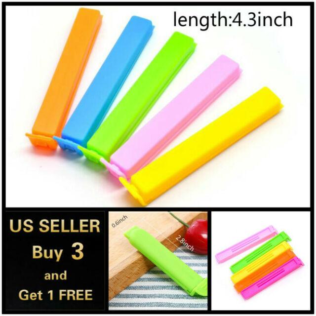 Grip Stick Style Bag Sealer Magic Stick/'s 12 Food Saver Sticks Clips Free Ship!