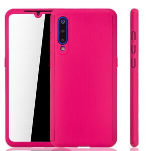 Xiaomi-Mi-9-Case-Phone-Cover-Protective-Case-Bumper-Cases-Heavy-Duty-Foil-Pink