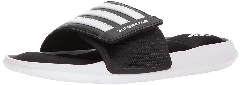 Adidas männer superstar dia weiß - Sandalee, schwarz / weiß dia / schwarz, 5 m uns bd37d9
