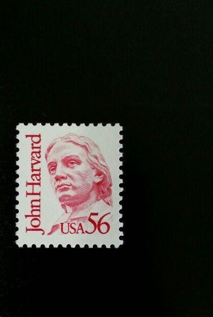 1986 56c John Harvard, Education Scott 2190 Mint F/VF N