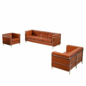 Miraculous Details About Flash Furniture Hercules Regal Series 3 Piece Leather Sofa Set Gmtry Best Dining Table And Chair Ideas Images Gmtryco