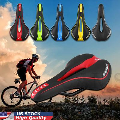Bicycle Cycle Bike MTB Saddle Road Mountain Sports Soft Cushion Gel Pad Seat