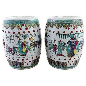 Pair-of-Antique-Chinese-Ceramic-Garden-Stools