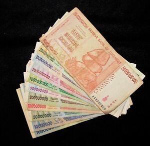 Banknotes 1 10 50 100 200 500 Million