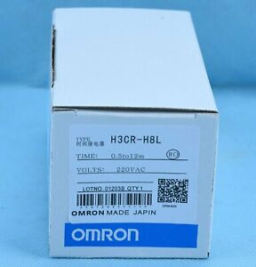 ONE Omron Timer H3CR-H8L 200-240VAC Power OFF Delay NEW