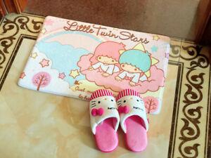 Cute-Little-Twin-Stars-Bedroom-Doormat-Floor-Mat-Rug-Carpet-Home-Room-Kids-Gift