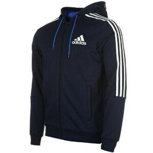 Adidas Essentials Homme 3-À Rayures À Capuche
