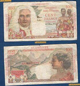 Guadeloupe-100-Francs-1947-1949-Caisse-France-D-039-Outre-MerT-50-55455-TB-TTB