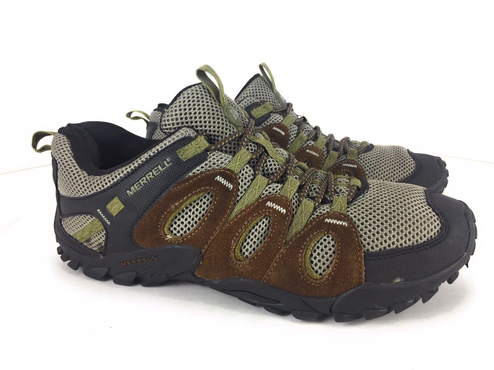 Merrell Crosslander Vent Suede Hiking avvio Dimensione 10.5 US