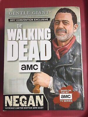 2017 Sdcc Exklusive Gentle Giant The Walking Dead Negan Büste Edition #33 Von