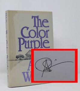 Alice Walker - The Color Purple - SIGNED 1st 1st - Pulitzer Prize - Basis Film