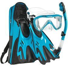 Phantom Aquatics Legendary Mask Fin Snorkel Set With Mesh