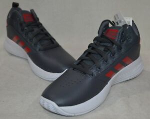 finest selection df7a8 6b0fc Image is loading adidas-CF-Ilation-2-0-K-Grey-Red-