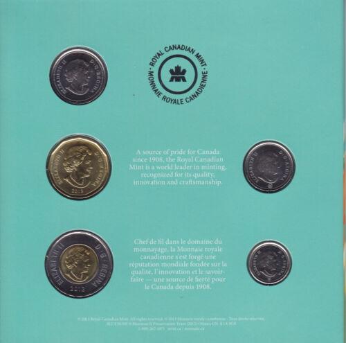 Rare 2013 Canada Happy Birthday Gift Set with Special Commemorative Quarter