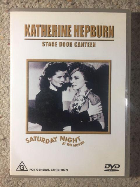 Stage Door Canteen - Katherine Hepburn - like New All Region DVD