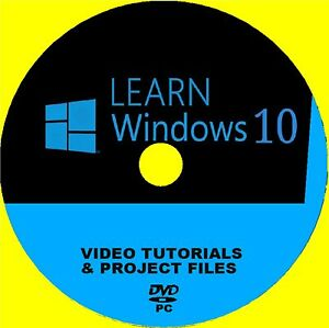 Details about LEARN WINDOWS 10 SIMPLE STEP BY STEP PRO VIDEO TRAINING  SYSTEM NEW PC DVD ROM