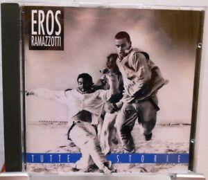 EROS-RAMAZZOTTI-CD-TUTTE-STORIE-Fort-ALBUM-avec-13-superbes-CHANSONS-ITALIE