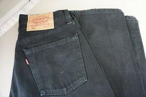 Levis-Levis-s-529-bootcut-Jeans-Hose-28-32-W28-L32-stonewashed-schwarz-ab36