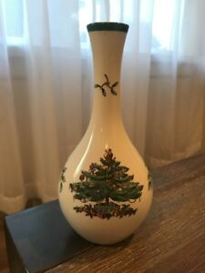 Details About Spode Christmas Tree Bud Vase