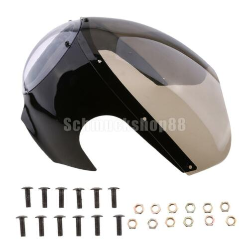 Universal retro Motorradverkleidung Kit Scheinwerfer Verkleidung Lampenmaske