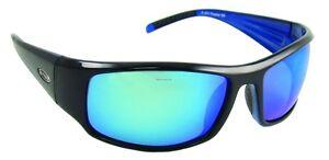 4b7476e646ea0 Image is loading New-Sea-Striker-Sunglasses-Thresher-Black-Blue-Mirror-