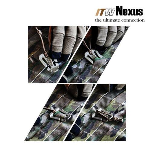 4 PIèces WEB Dominator ITW Nexus FOLIAGE GREEN