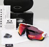 Oakley Jawbreaker Asia Fit Polished White / Prizm Road Sunglasses Oo9270-04