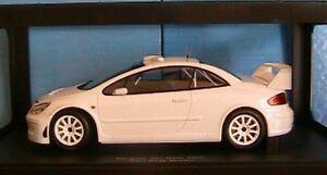PEUGEOT-307-WRC-PLAIN-BODY-2005-WHITE-AUTOART-n-80558-1-18-NEW-rallye