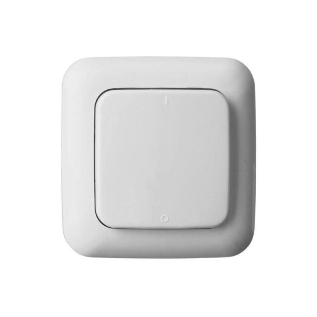Home Easy Remote Control  Wall Switch Unit 1G, White, HE307