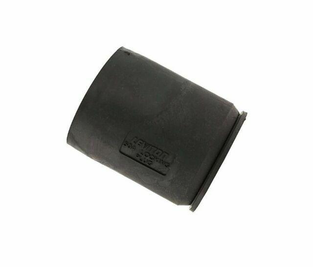 LEVITON 7715CR BOOT FOR 50 AMP NON-NEMA LOCKING PLUG IP55 BLACK M0645
