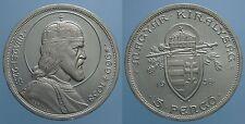 UNGHERIA 5 PENGO 1938 S. STEFANO FDC