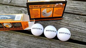 13x Callaway Warbird Distance - Golfbälle - neu
