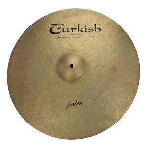 TURKISH-CYMBALS-Becken-18-034-Crash-Fusion-bekken-cymbale-cymbal-1669g