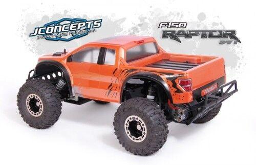 Jconcepts Illuzion Ford Raptor SVT Clear Body Body Body Slash 0084 JCO0084 06774f
