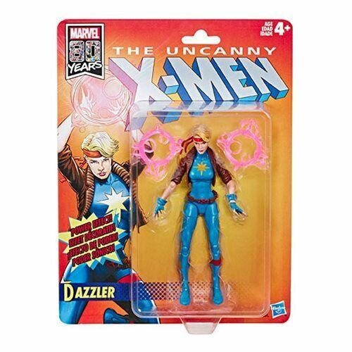 X-Men Retro Marvel Legends 6-Inch Dazzler Action Figure  by Hasbro