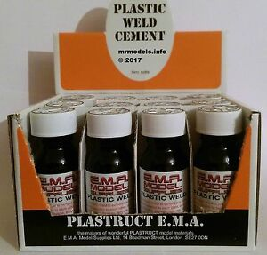 EMA-Plastic-Weld-57ml-Bottle-Glue-Adhesive-Cement-Over-18-039-s-Only-Plasweld-PPC-2P