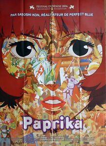 Paprika Satoshi Kon Perfect Blue Original Large French Movie Poster Ebay