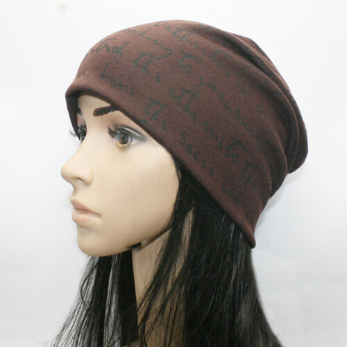 Mens Baggy Beanie Winter Warm Hats Ski Slouch Stretch Casual Dance Knitted Caps