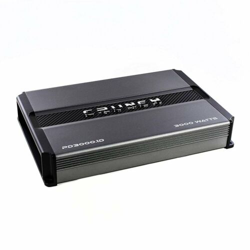 Crunch Power Drive 3000W Max Monoblock Class D Car Audio AmplifierPD3000.1