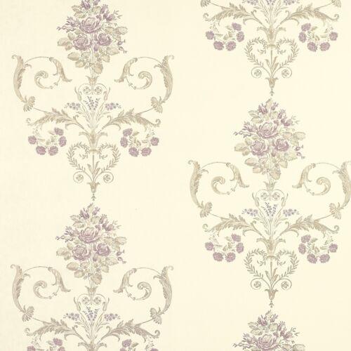 FREE DELIVERY * Laura Ashley Henrietta Lavender Wallpaper