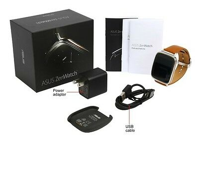 *NEW* Asus Smart Watch - ZenWatch (Silver / Rose Gold / Brown) Zen Watch