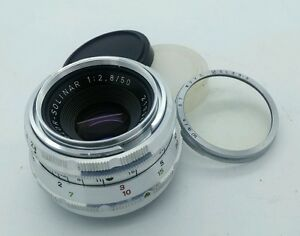 AGFA Color-Solinar f2.8 50mm LENS in Excellent condition