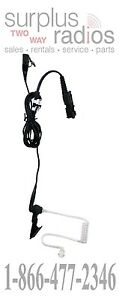 OEM MOTOROLA TWO WIRE CLEAR ACOUSTIC HEADSET WITH PTT PMLN7269A XPR3300 XPR3500