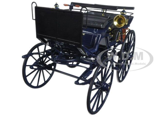 1886 Daimler Motorkutsche 1 18 Diecast Modelo Modelo Modelo Coche por Norev 183700 102f12