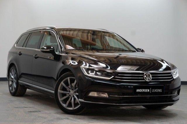 VW Passat 2,0 TDi 190 Highl. Variant DSG 5d - 2.600 kr.