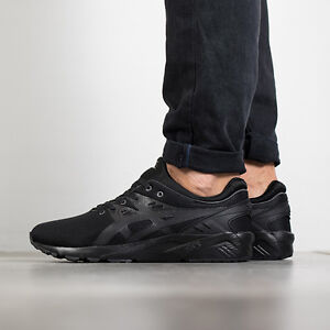 Men's Asics Gel Kayano Trainer Evo Black H707N 9090