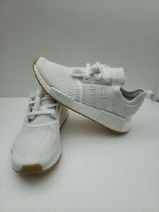 Adidas Nmd R1 Men S White Gum Size 8 5 Ebay