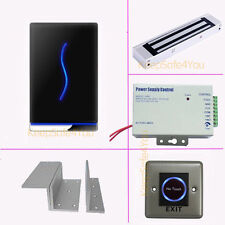 Time Clock Attendance Access Control Controller RFID Reader Kits + Magnetic Lock