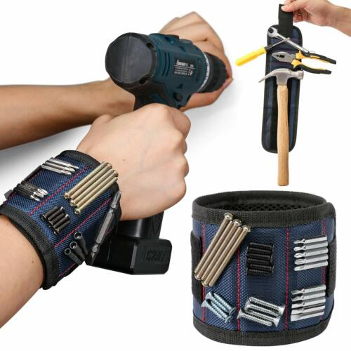 Magnetic Wristband for Holding Screws Nails Drill Bits Wrist Magnet Magnetic To