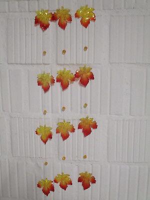 Ahorngirlande Ahornblätter 3 x Girlande Herbstblätter Herbst Deko Tischdeko Neu!